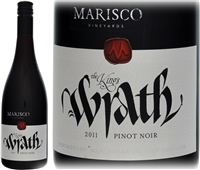 Marisco Vineyards The Kings Wrath Marlborough Pinot Noir 2011