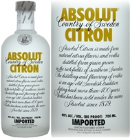 Absolut Citron Swedish Vodka 70cl
