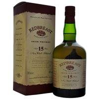 Redbreast Irish Whiskey 15 Year Old Single Pot Still Irish Whiskey 70cl - New