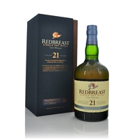 21 Year Old Single Pot Still Irish Whiskey 70cl by Redbreast