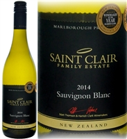 Saint Clair Marlborough Sauvignon Blanc 2014
