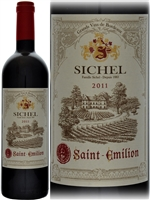 Sichel Saint Emilion 2011 declassified Bordeaux