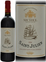 Sichel Saint Julien 2010 declassified Bordeaux