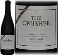 The Crusher Growers Selection Pinot Noir Clarksburg USA 2012