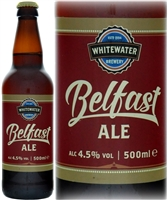 Whitewater Brewery Belfast Ale 4.5% ABV 500ml