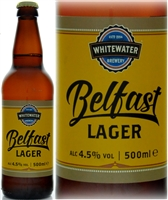 Whitewater Brewery Belfast Lager 4.5% ABV 500ml
