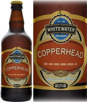 Whitewater Brewery Copperhead Pale Ale 3.7% ABV 500ml
