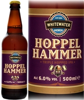 Whitewater Brewery Hoppelhammer IPA 6% ABV 500ml