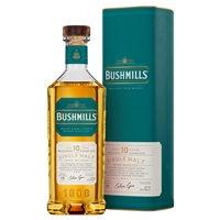 Bushmills 10 Year Old Single Malt Irish Whiskey 70cl