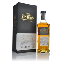Bushmills 21 Year Old Rare Single Malt Irish Whiskey 70cl