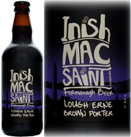 Inishmacsaint Brewery Lough Erne Brown Porter 500ml