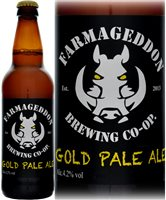 Farmageddon Gold Pale Ale 4.2% ABV 500ml