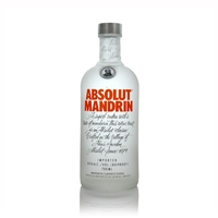 Absolut Mandrin Swedish Vodka