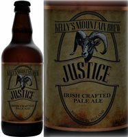 Kellys Mountain Brew Justice Irish Crafted Pale Ale 500 ml