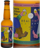 Partizan Brewing Real Time Saison