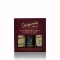 Glenfarclas 10, 12 year old Single Malt and 105 Cask Strenght Miniature Gift Set