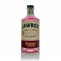 Jawbox Rhubarb and Ginger Gin Liqueur 70 cl