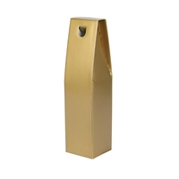 Gift Box One Bottle Gift Carton - Gold