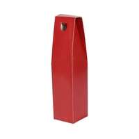 Gift Box One Bottle Gift Carton - Red