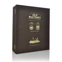 Old Pulteney Aged 21 Years and 1989 Vintage Set