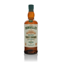 Dunvilles Three Crowns Peated Irish Whiskey 700ml