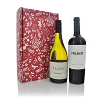 Vina Cobos Felino 2 Bottle Christmas Gift Set