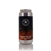 Beer Hut Brewing Company Sparks Will Fly Chocolate & Vanilla Stout 7.0% ABV