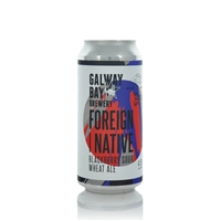 Galway Bay Brewery Foreign Native Blackberry Sour Wheat Ale 4.5% ABV
