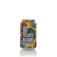 Weights + Measures Session IPA 3% ABV 330ml by Galway Bay Brewery