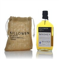 Killowen Bonded Experimental Series Txakolina Wine Cask Finish 10 Year Old Blended Irish Whiskey