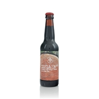 Mourne Mountains Brewery Hoops and Staves Barrel Aged Double Oatmeal Stout 9.5% ABV