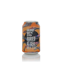 Galway Bay Brewery Buried At Sea Milk Stout 4.5% ABV