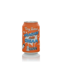 Tiny Rebel Brewing Peaches and Cream Creamy Peach IPA 5.5% ABV