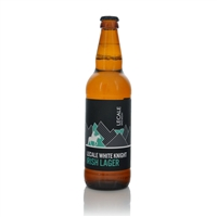 Lecale White Knight Irish Lager 4.5% ABV