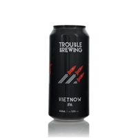 Vietnow IPA 5.5% ABV 440ml  by Trouble Brewing