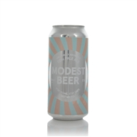 Unusually aromatic DDH Pale Ale 5% ABV by Modest Beer