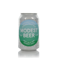Modest Beer Satisfyingly Complex Strata Pale Ale 4.2% ABV
