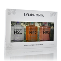 Symphonia 3 x 200 ml Handcrafted Gin gift set