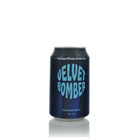 Twisted Wheel Brew Co. Velvet Bomber Chocolate Stout 10% ABV
