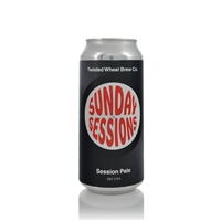 Twisted Wheel Brew Co. Sunday Sessions Session Pale Ale 3.8% ABV