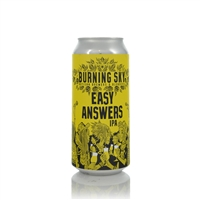 Burning Sky  Easy Answers IPA 6.0% ABV