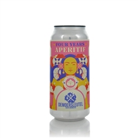 Brouwerij De Moersleutel Four Years Aperitif Quadruple Fruited Sour Ale 7% ABV