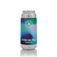 Beer Hut Brewing Company Ryed on Time DDH Rye Ale 5.8% ABV