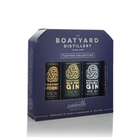The Boatyard Distillery Tasting Collection 3 x 50ml