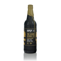 Galway Bay Brewery 200 Fathoms Barrel Aged Whiskey Imperial Stout 2020 10% ABV