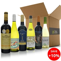 Hand Picked Around the World in 6 Wines Mixed Case