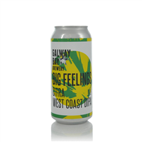 Galway Bay Brewery Big Feelings West Coast DIPA 8.5% ABV