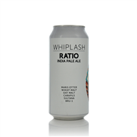 Whiplash Ratio Label IPA 6.2% ABV
