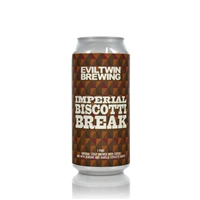 Eviltwin Brewing Imperial Biscotti Break Imperial Stout 11.5% ABV