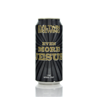 Eviltwin Brewing Even More Jesus Imperial Stout 12% ABV